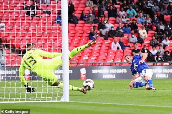 لستر 1 - 0 سیتی؛ اولین جام برای پپ از دست رفت